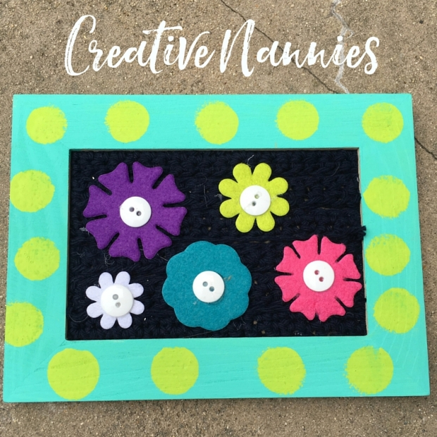 Crochet Flower Sensory Play